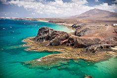 Playa Papagayo, Lanzarote, Canary Islands, Spain