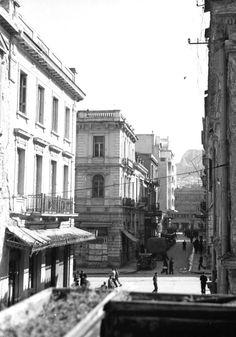 c. 1945 ~ Satovriandou street, Athens