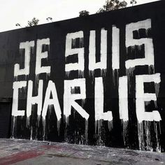 Je suis Charlie Los Angeles By Matthieu Britton
