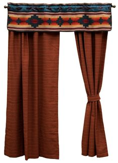 $329.55 Crystal Creek Valance & Terra Woven Drapery Set 84 Long wooded river authorized retailer