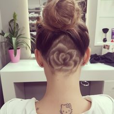 #backcut #rose #backcutart #hairart #lovemyjob #crazyhair #longhair