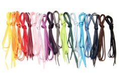 Ever get tired of simply wearing black or brown dress shoes-laces? Yes? Us too!! And that is why we have an array of colourful, shoe-laces to jazz-up your shoe wardrobe. There is no right or wrong way to match the colour of your laces with your shoe colour, so don't be afraid to go bold!