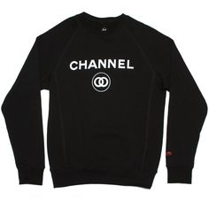 Yes, a crew-neck sweatshirt is just as trashy when the logo of an expensive manufacturer is screen printed onto it.
