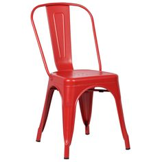 Trattoria Side Chair in Red