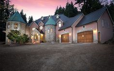 Blackberry Castle hit the market December of 2015, selling initially for $7.2M. Over a year later, the Portland property - still being sold by  Chris Suarez of PDX Property Group - dropped more than $2 million in asking price, and is now going for $4,900,000. The Castle is magnificent, gated with a private vineyard, hillside wine cellar, five bedrooms, two-story turret library, clock ceiling, atrium bar, home theater, and a rock climbing gym. (Image: Greg Pierce of Capella Photography / PDX…