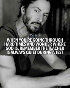 life test god teacher quiet during test qoutes lifequotes motivation positivevibes thoughts Wise Quotes, Quotable Quotes, Great Quotes, Words Quotes, Quotes To Live By, Motivational Quotes, Funny Quotes, Inspirational Quotes, Chill Out Quotes