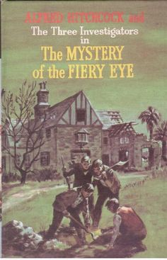 Alfred Hitchcock and The Three Investigators #7 Mystery of the Fiery Eye - HB