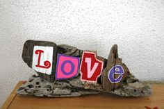 LOVE Driftwood SignMade to Order by PeaceLoveDriftwood on Etsy