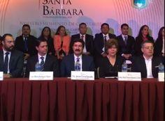 Toma Corral protesta a Rodríguez Cháirez como nuevo alcalde de Santa Bárbara | El Puntero