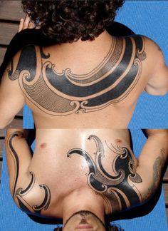 polynesian-back-tattoo-04062013-4.jpg (437×600)