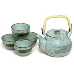 Spring Cherry Blossom Japanese Tea Set