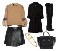 """""""Untitled #155"""" by anasimoes99 ❤ liked on Polyvore featuring Michael Kors, Jonathan Simkhai, Gianvito Rossi, Carven and Marc by Marc Jacobs"""