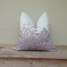 Luxurious pillow cover pillow cover Flora Lilac violet by iaimshop, $35.00