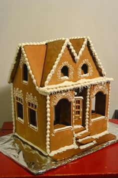 Gingerbread house store bakery