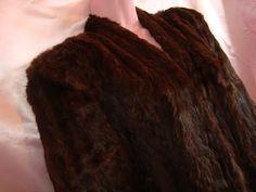 Fur Shrug Womens Fur Coat Vintage Fur Coat by couturecafe on Etsy