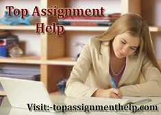 Top Assignment Help provides the top quality assignment work for the students and help them to get good grades in the exam with the team of highly-...