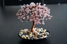 not real but still a sight to behold! Apple Blossom Tree Sculpture