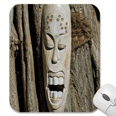 #African #Mask #Mousepad