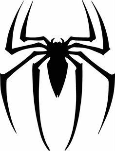 Spiderman Logo Vinyl Cut Out Decal, Sticker - Choose your Color and Size