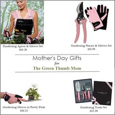 Mothers Day Gift Ideas for the Gardening Mom #mothersdaygiftideas