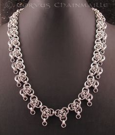 Japanese Dragonscale by Corvus Chainmaille