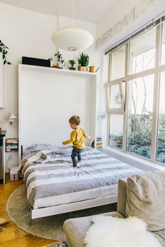 Alison, Trevor and a Baby in 600 Square Feet | Murphy bed ...