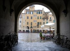 Beautiful Lucca in Tuscany