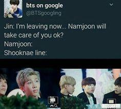 BTS shooknae line