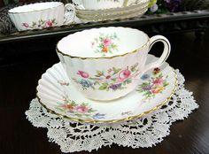 c1930s Minton Marlow Teacups Tea Cups and Saucers (4) 5639