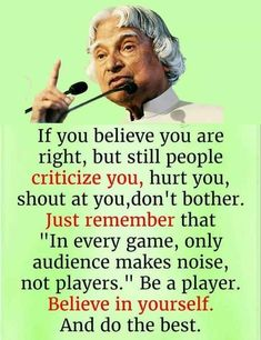 Well Said Quotes 628604060476440508 - Source by beereinstein Apj Quotes, People Quotes, Hindi Quotes, Wisdom Quotes, True Quotes, Best Quotes, Motivational Quotes, Qoutes, Quotes Images