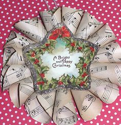 Autumn Hathaway: christmas paper ornaments