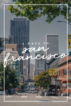 My San Francisco City Guide. How to spend 4 days in the city. Where to stay, What to do, where to eat and grab drinks. Usa Places To Visit, Places To Travel, Travel Destinations, San Francisco Downtown, San Francisco Travel, Karl The Fog, Lombard Street, Golden Gate Park, Ghost Tour