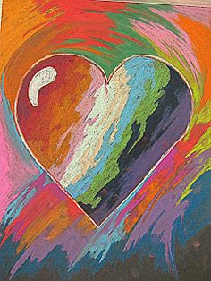 A Glimmer of Light  Jim Dine hearts