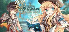 Aura Kingdom é um MMORPG de fantasia gratuito feito pela Aeria Games, com gráficos brilhantes, no estilo anime.