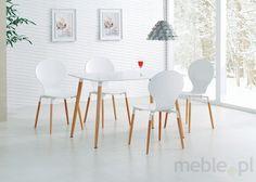 Prostokątny stół SOCRATES z lakierowanym blatem, Halmar - Meble