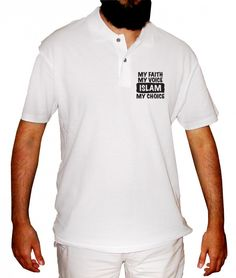 Design Molvi - My Faith, My Voice, Islam My Choice Polo Shirt, $23.52 (http://www.designmolvi.com/my-faith-my-voice-islam-my-choice-polo-shirt/)