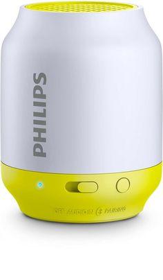 Philips BT50L Taşınabilir Kablosuz Sarı Bluetooth Hoparlör Ses Bombası(H12.BT50L)