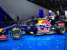 Infiniti Red Bull Renault F1 car at #NAIAS