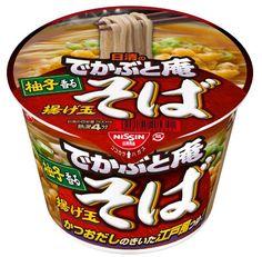 Amazon.co.jp: 日清のでかぶと庵 揚げ玉そば 110g×12個: 食品・飲料・お酒
