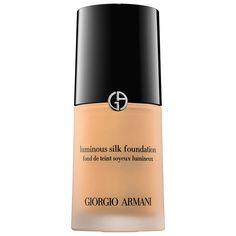 Giorgio Armani Luminous Silk Foundation. http://beautyeditor.ca/2015/09/24/gita-bass