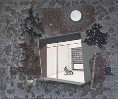 Ieva ILTŅERE | Latvian | b. 1957.  Full Moon, 2017