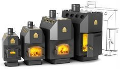 """Termofor"" — Siberian stoves, heaters, fireplaces"