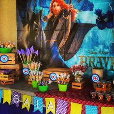 Beatiful Brave Party...Sweet Candy Bar ❤