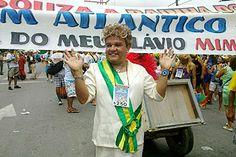 A Dilma deixou Brasília pra frevar.