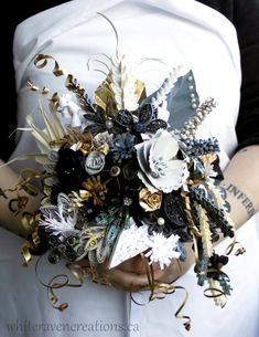 Image result for quilled bridal bouquet