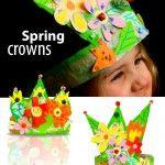 DIY+Spring+Crown