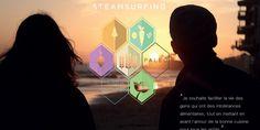 Steamsurfing, le premier réseau social du repas chez l'habitant adapté à tous