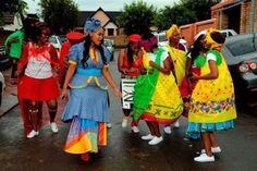 Traditional Wedding Attire, African Traditional Wedding, Traditional Weddings, Tsonga Traditional Dresses, South African Design, African Wear, Dream Wedding, Rainbow, Brides