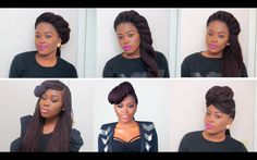 6 Unique Quick & Easy Styles For Box Braids/Twists