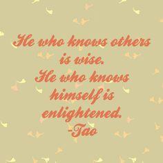 Tao- Enlightened